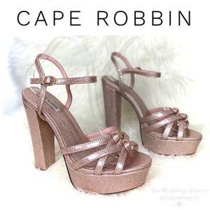 Cape Robbin Joe Platform Sandals